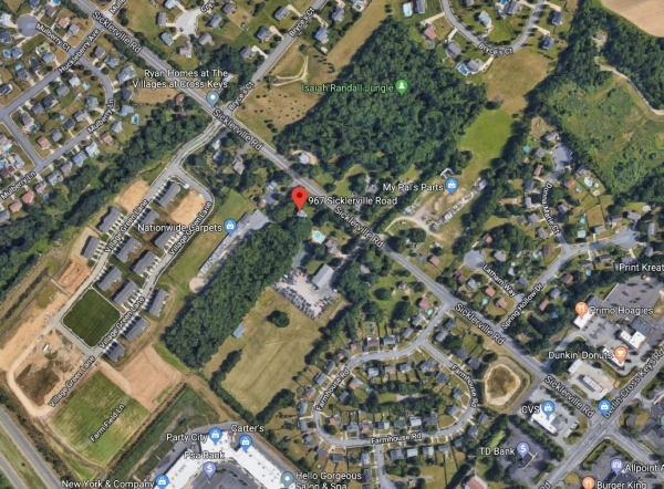 Listing Image #1 - Land for sale at 967 Sicklerville Rd, Sicklerville NJ 08081