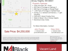Land for sale in Airway Heights, WA