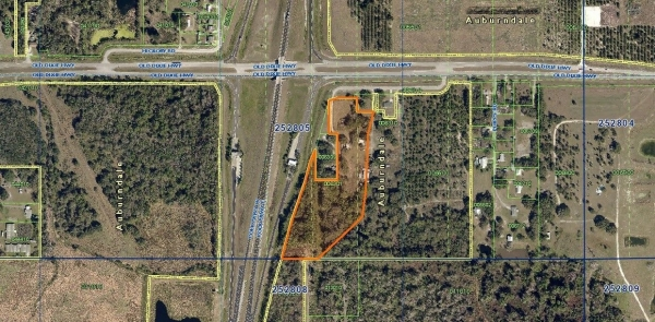 Listing Image #1 - Land for sale at 1129 Old Dixie Highway, Auburndale FL 33823