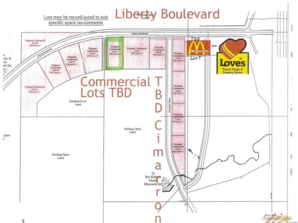 Listing Image #1 - Land for sale at TBD Lot 7 Liberty Blvd - 2.90 Frontage Lot, Box Elder SD 57719