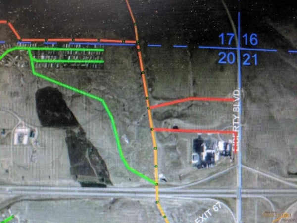 Listing Image #7 - Land for sale at TBD Lot 7 Liberty Blvd - 2.90 Frontage Lot, Box Elder SD 57719