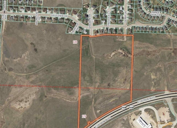 Listing Image #2 - Land for sale at TBD Catron Blvd - 17.71 Commercial Frontage Acres, Rapid City SD 57701
