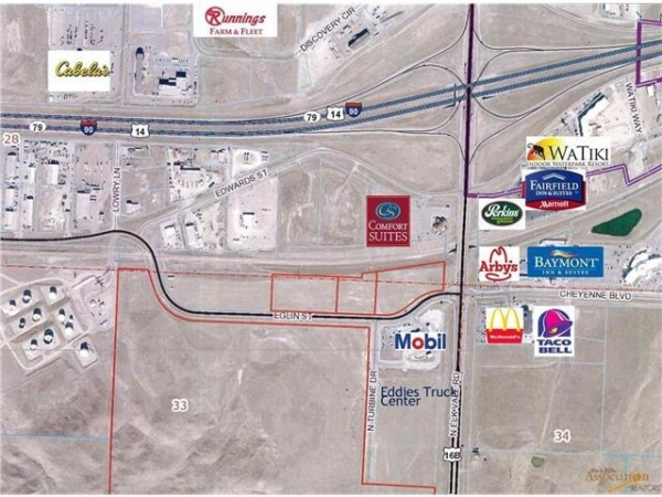 Listing Image #3 - Land for sale at TBD Eglin St - 2.03 Acres, Rapid City SD 57701