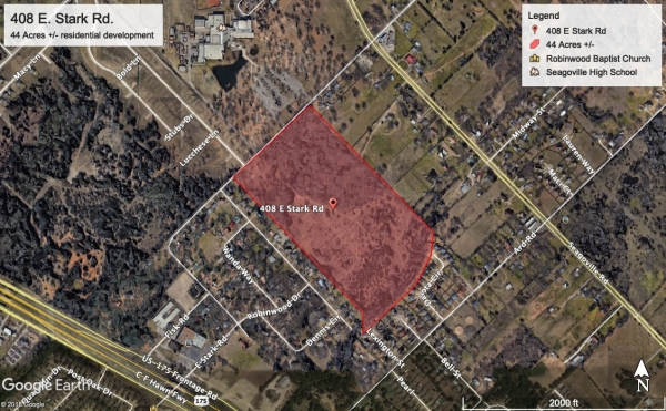 Listing Image #1 - Land for sale at 408 E Stark Rd, Seagoville TX 75159