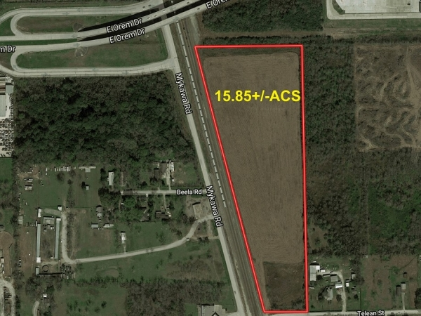Listing Image #1 - Land for sale at 10701 Mykawa Road, Houston TX 77075
