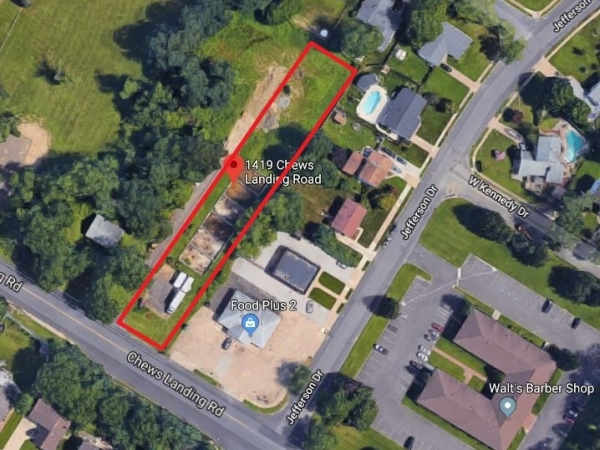 Listing Image #1 - Land for sale at 1419 Chews Landing Rd, Clementon NJ 08021