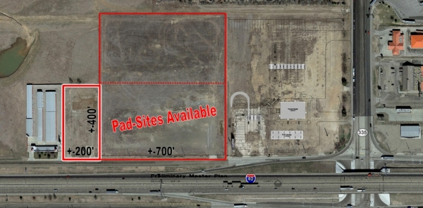 Listing Image #1 - Land for sale at Lakeside and I-40, Amarillo TX 79118