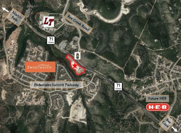 Listing Image #1 - Retail for sale at Hwy 71, Spicewood TX 78669