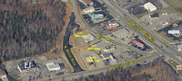 Listing Image #1 - Retail for sale at 105 Kieta Way, Radcliff KY 40160
