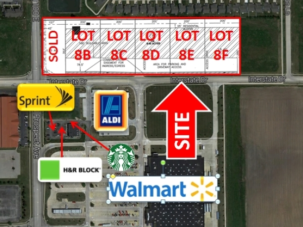 Listing Image #3 - Land for sale at North Prospect Ave, Champaign IL 61822
