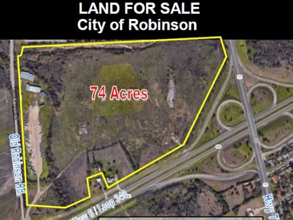Listing Image #1 - Land for sale at Old Robinson Rd. / S. Loop 340, Robinson TX 76706