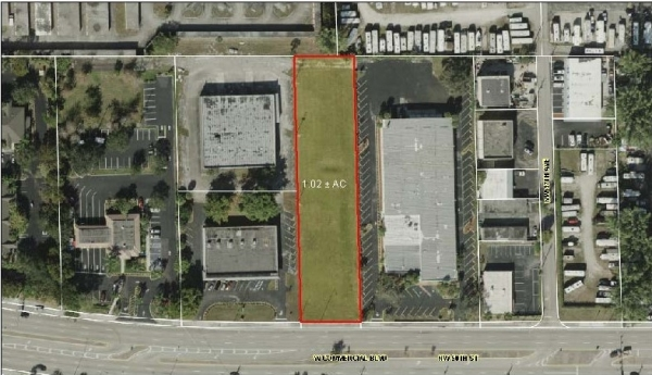 Listing Image #1 - Land for sale at 3707 W Commercial Blvd, Tamarac FL 33309