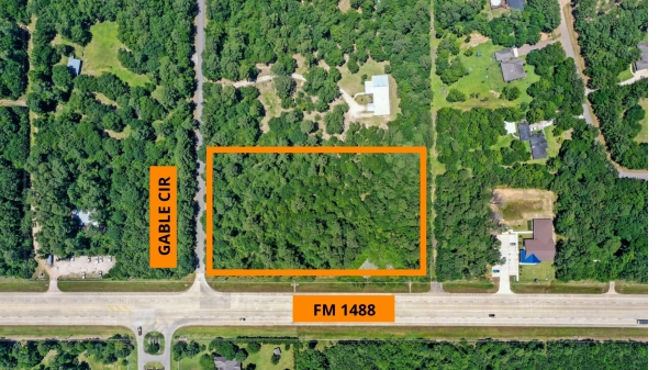 Listing Image #1 - Land for sale at FM 1488 at Gable Circle, Magnolia TX 77354