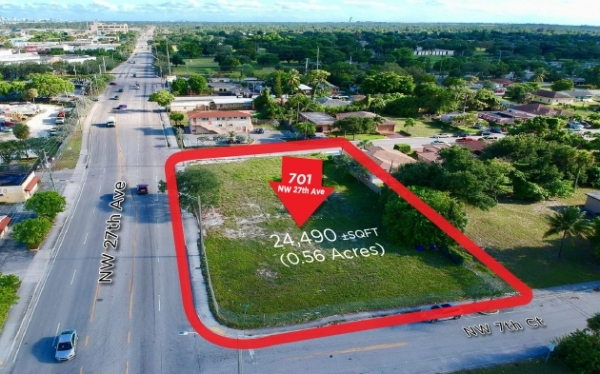 Listing Image #1 - Land for sale at 701 NW 27th Ave, Fort Lauderdale FL 33311