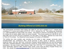 Retail for sale in Midwest City, OK