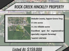 Listing Image #1 - Land for sale at Route 30 and E. Sandwich Road, Hinckley IL 60520