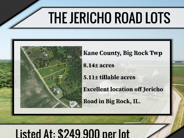 Listing Image #1 - Land for sale at Jericho Road, Big Rock IL 60511