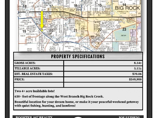 Listing Image #2 - Land for sale at Jericho Road, Big Rock IL 60511