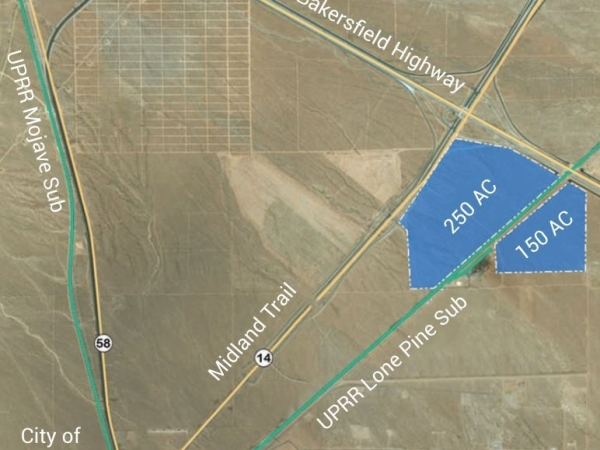 Listing Image #1 - Land for sale at Hwy 58 & 14, Mojave CA 93501