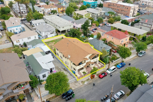 Listing Image #1 - Multi-family for sale at 1657-1659 W 12th Pl, Los Angeles CA 90015
