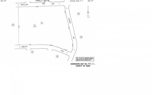 Listing Image #1 - Land for sale at Bigelow Ave.  & Luzon Dr., California City CA 93505