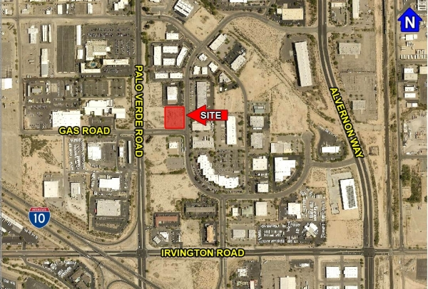 Listing Image #1 - Industrial Park for sale at 3561 E. Gas Rd. Butterfield, Tucson AZ 85714