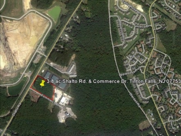 Listing Image #1 - Land for sale at Corner of Shafto Rd. & Commerce Dr., Tinton Falls NJ