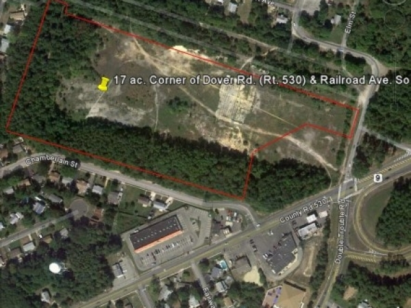 Listing Image #1 - Land for sale at Corner Dover Rd. (Rt. 530) & Railroad Ave., South Toms River NJ 08757