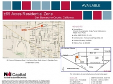 Land for sale in Pinon Hills, CA