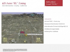 Listing Image #1 - Land for sale at 14800 Azalea Rd, Phelan CA 92371