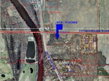 Listing Image #1 - Land for sale at Tittabawassee & Midland Roads, Saginaw MI 48603