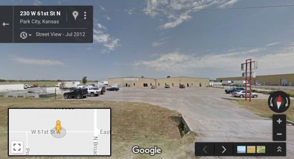 Listing Image #1 - Industrial for sale at 120 W 61st Street N, Wichita KS 67204