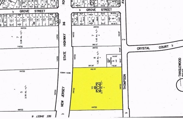 Listing Image #1 - Land for sale at Thompson Avenue, Middletown NJ 07748