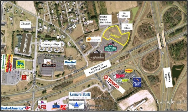 Listing Image #1 - Land for sale at Lots 3A & 4 Sweetbay Drive, Salisbury MD 21804