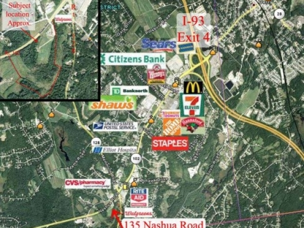 Listing Image #1 - Land for sale at 135 Nashua Rd., Londonderry NH