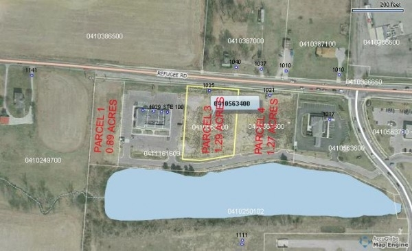 Listing Image #1 - Land for sale at 1033 Refugee Road, Pickerington OH 43147