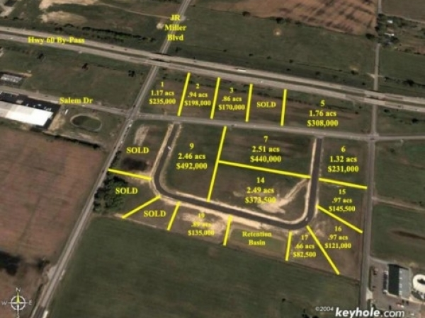 Listing Image #1 - Land for sale at 47 Salem Drive Lot 19, Owensboro KY 42303