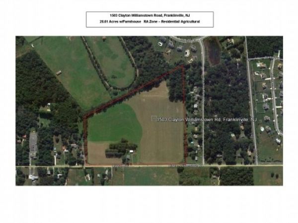 Listing Image #1 - Land for sale at 1503 Clayton Williamstown Rd, Franklinville NJ 08322