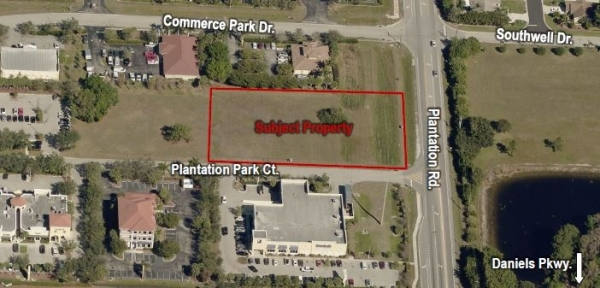 Listing Image #1 - Land for sale at Daniels Park Commerce Center Lot 5, Fort Myers FL 33966