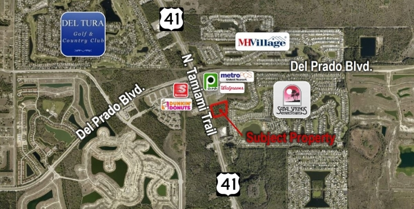 Listing Image #1 - Land for sale at 17750 N. Tamiami Trail, North Fort Myers FL 33903