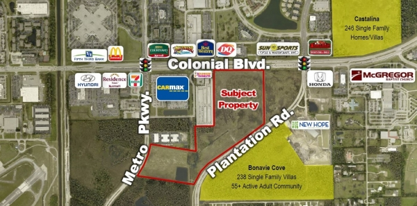 Listing Image #1 - Land for sale at 3280 Colonial Blvd., Fort Myers FL 33912