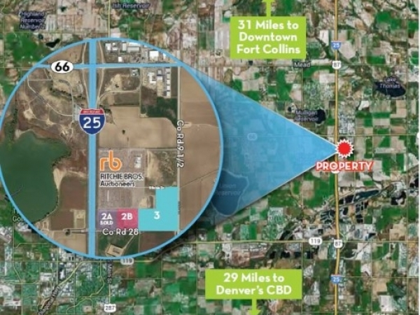 Listing Image #1 - Land for sale at 4444 Ritchie Drive, Longmont CO 80504