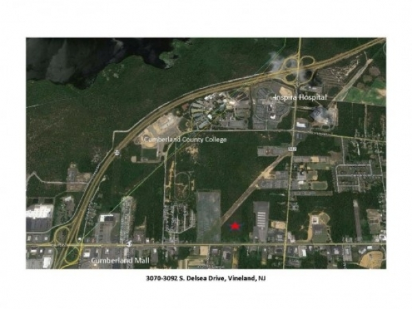 Listing Image #2 - Land for sale at 3070 S Delsea Dr, Vineland NJ 08360