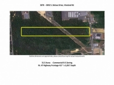 Listing Image #1 - Land for sale at 3070 S Delsea Dr, Vineland NJ 08360