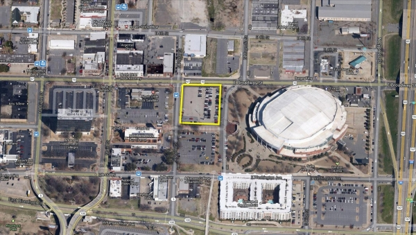 Listing Image #1 - Land for sale at 200 East Broadway Street, North Little Rock AR 72114