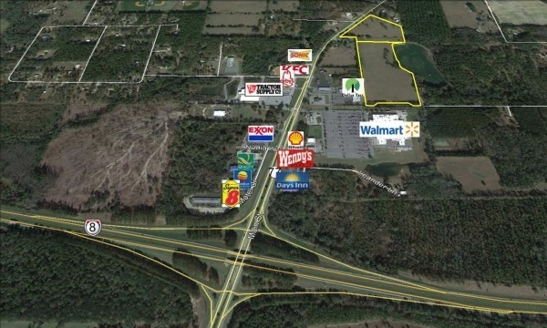 Listing Image #1 - Land for sale at 1447 Main Street, Chipley FL 32428