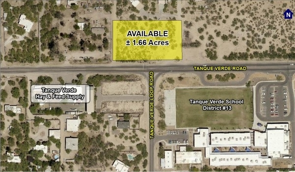 Listing Image #1 - Land for sale at 11101 E. Tanque Verde Road, Tucson AZ 85749