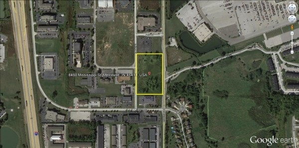 Listing Image #1 - Land for sale at 8460 Mississippi Street, Merrillville IN 46410