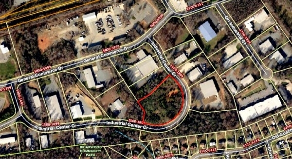 Listing Image #1 - Industrial for sale at Industrial Center Circle, Charlotte NC 28213