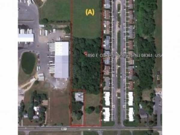 Listing Image #1 - Land for sale at 1890 E Oak Rd, Vineland NJ 08361